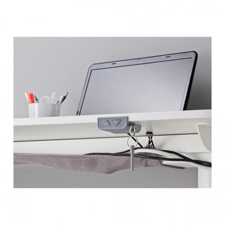 Стол-трансформер с экраном БЕКАНТ белый фото 4