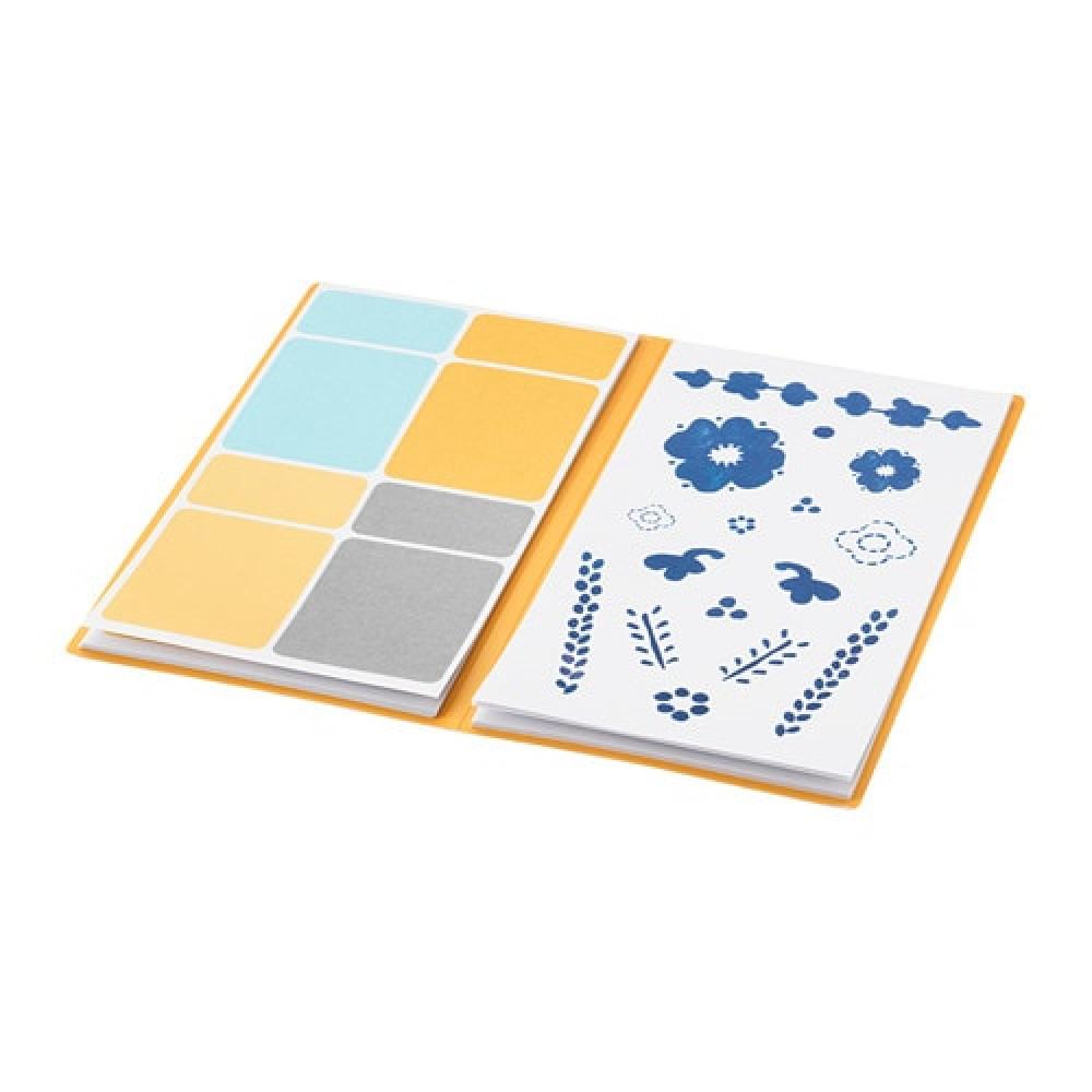 Папка с наклейками АНИЛИНАРЕ белый, синий  фото 1