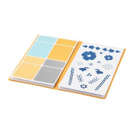 Папка с наклейками АНИЛИНАРЕ белый, синий фото 3