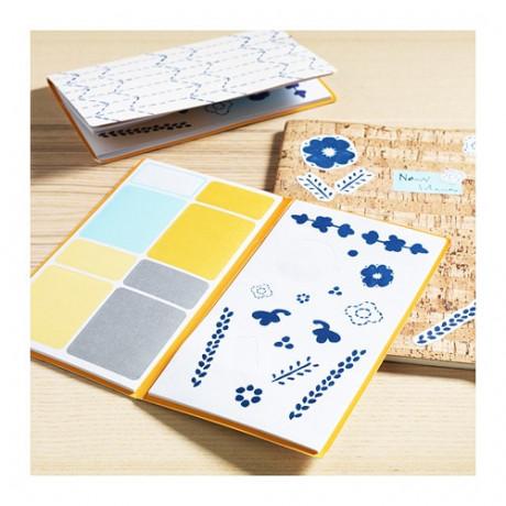 Папка с наклейками АНИЛИНАРЕ белый, синий фото 4