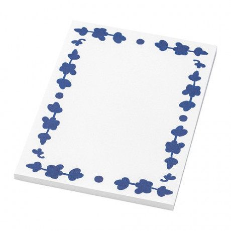 Блокнот для записей АНИЛИНАРЕ белый, синий фото 3