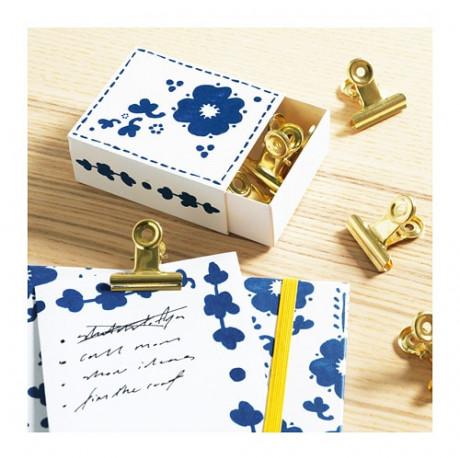 Блокнот для записей АНИЛИНАРЕ белый, синий фото 4