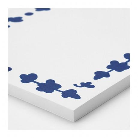 Блокнот для записей АНИЛИНАРЕ белый, синий фото 5