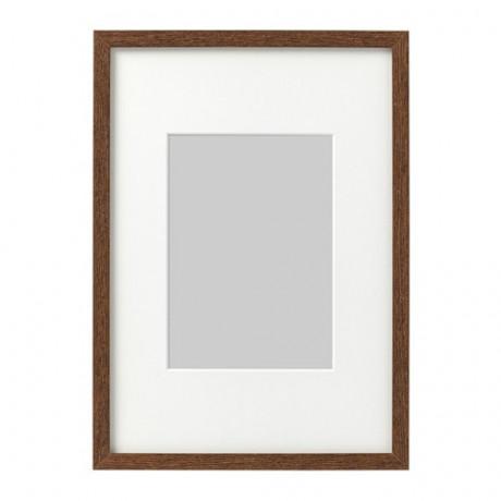 Рама ХОВСТА темно-коричневый фото 0