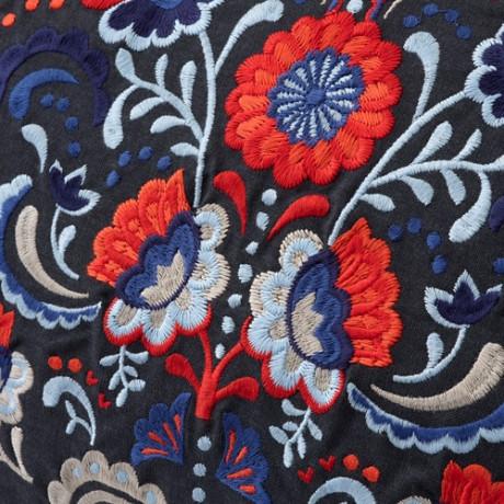Подушка   темно-серый, разноцветный фото 1