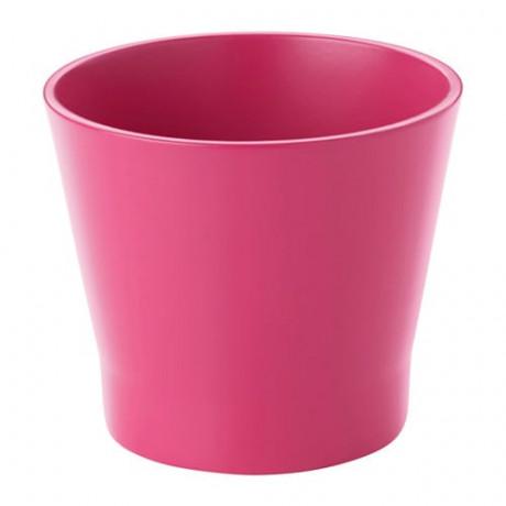 Кашпо ПАПАЙА темно-розовый  фото 1