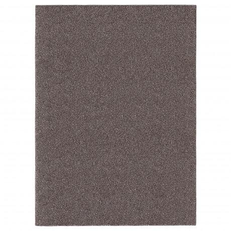 Ковер, длинный ворс АЛЛЕРСЛЕВ коричневый  фото 1
