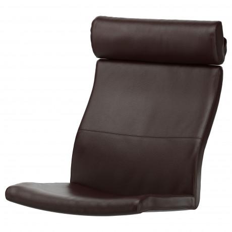 Подушка-сиденье на кресло ПОЭНГ Кимстад темно-коричневый фото 4