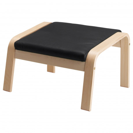 Подушка-сиденье на табурет для ног ПОЭНГ Кимстад темно-коричневый фото 3