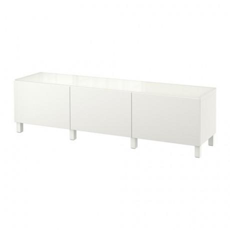 Комбинация для хранения с ящиками БЕСТО белый, Лаппвикен белый  фото 1