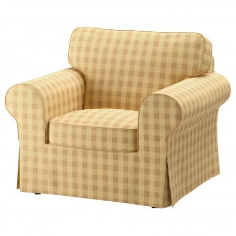Кресло ЭКТОРП Скафтарп желтый  фото 1