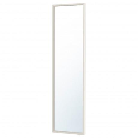 Зеркало НИССЕДАЛЬ белый  фото 1