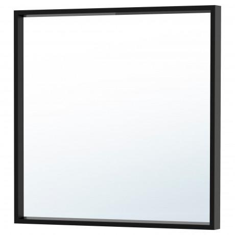 Зеркало НИССЕДАЛЬ белый фото 2