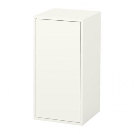Шкаф с дверцей и 1 полкой ЭКЕТ белый  фото 1