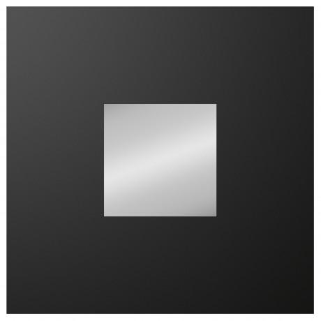 Зеркало МАЛЬМА черный  фото 1