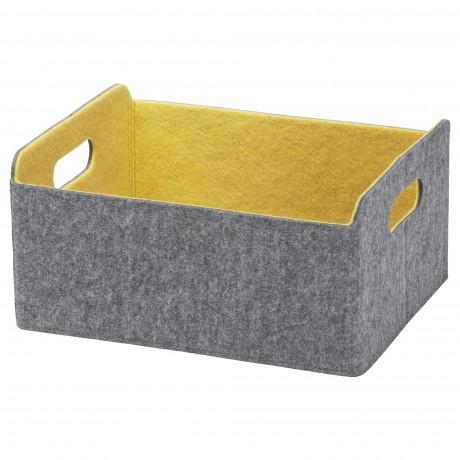 Коробка БЕСТО серый фото 1