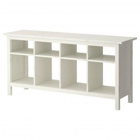 Консольный стол ХЕМНЭС белая морилка  фото 1
