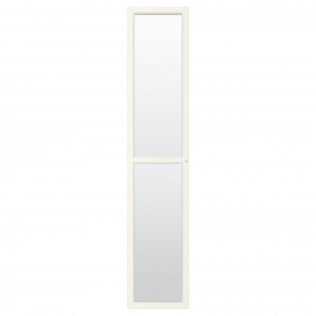 Стеклянная дверь ОКСБЕРГ белый  фото 1