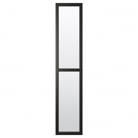 Стеклянная дверь ОКСБЕРГ белый фото 3