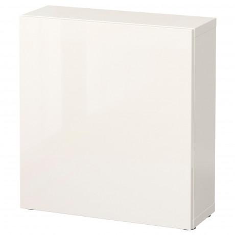 Стеллаж с дверью БЕСТО белый, Лаппвикен белый фото 10