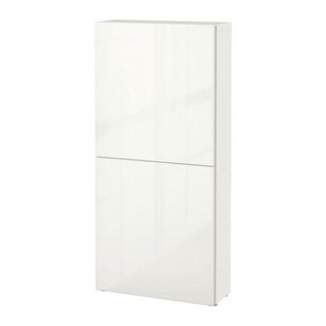 Навесной шкаф с 2 дверями БЕСТО под беленый дуб, вассвикен белый фото 27