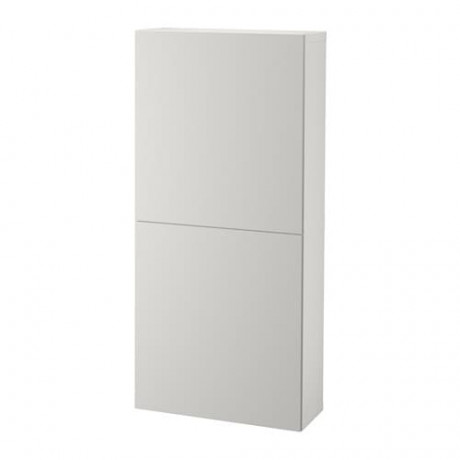 Навесной шкаф с 2 дверями БЕСТО под беленый дуб, вассвикен белый фото 24