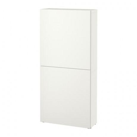 Навесной шкаф с 2 дверями БЕСТО под беленый дуб, вассвикен белый фото 19