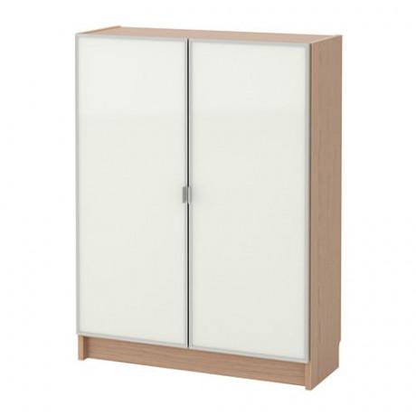 Шкаф книжный со стеклянными дверьми  БИЛЛИ / МОРЛИДЕН фото 2