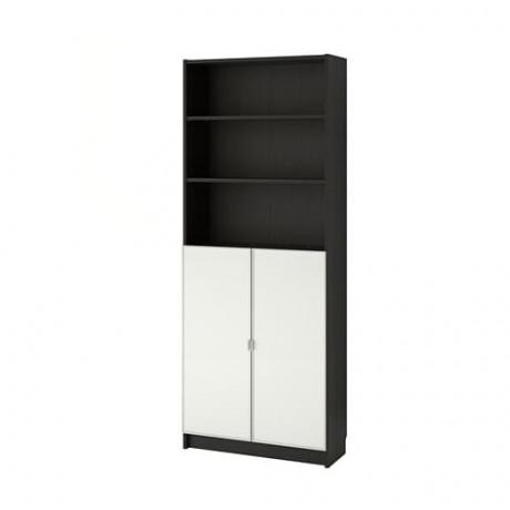 Шкаф книжный со стеклянными дверьми  БИЛЛИ / МОРЛИДЕН фото 3