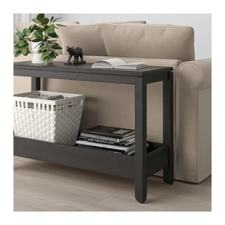 Консольный стол ХАВСТА темно-коричневый  фото 1