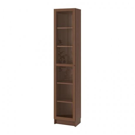 Шкаф книжный со стеклянной дверью  БИЛЛИ / ОКСБЕРГ фото 2