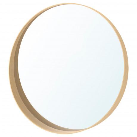 Зеркало СТОКГОЛЬМ ясеневый шпон  фото 1
