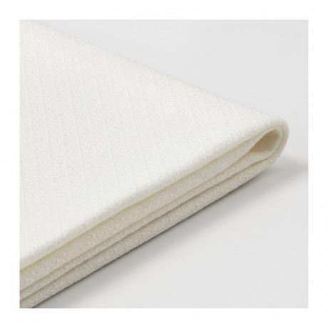 Чехол на диван-кровать с козеткой БАККАБРУ Хильте белый  фото 1
