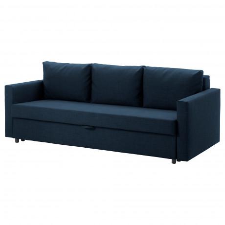 3-местный диван-кровать ФРИХЕТЭН Шифтебу темно-серый фото 1