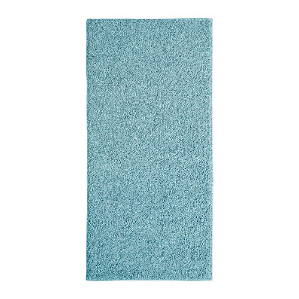 Ковер, длинный ворс АЛЛЕРСЛЕВ синий  фото 1