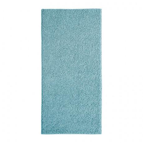 Ковер, длинный ворс АЛЛЕРСЛЕВ синий фото 3