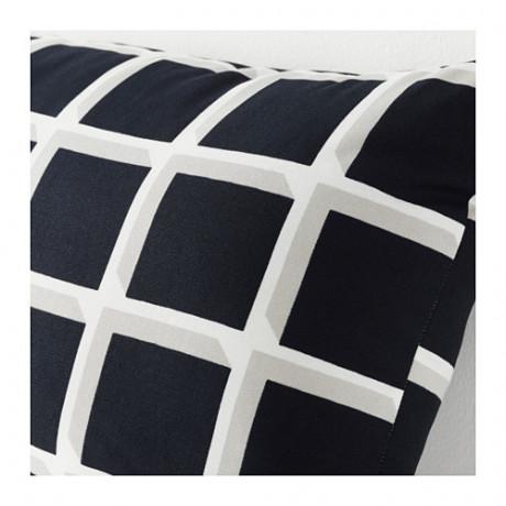 Подушка АВСИКТЛИГ черный/белый фото 4