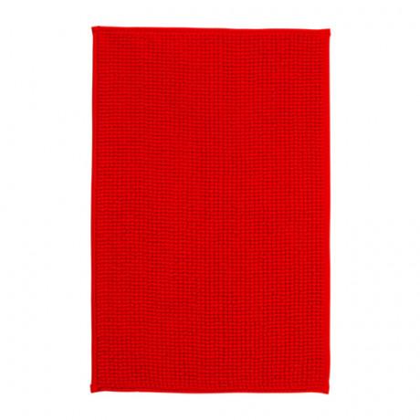 Коврик для ванной БАДАРЕН ярко-красный фото 3