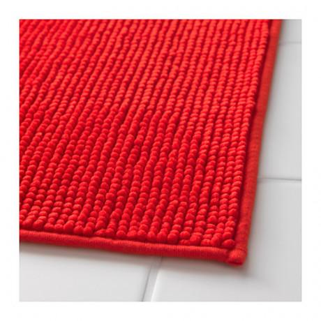 Коврик для ванной БАДАРЕН ярко-красный фото 4