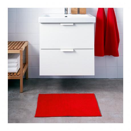 Коврик для ванной БАДАРЕН ярко-красный фото 5