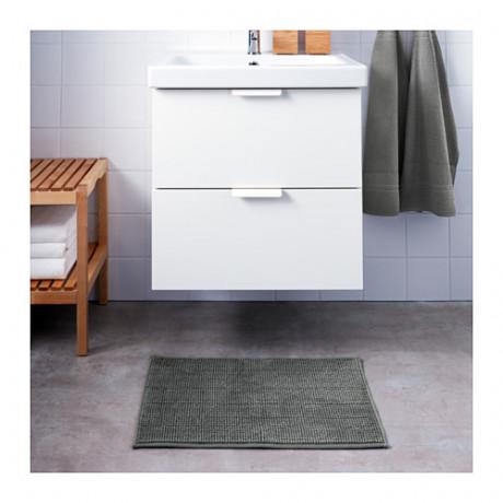 Коврик для ванной БАДАРЕН серый фото 5