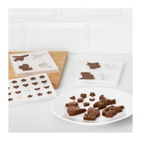 Формочки для шоколада БАКГЛАД различные формы фото 4