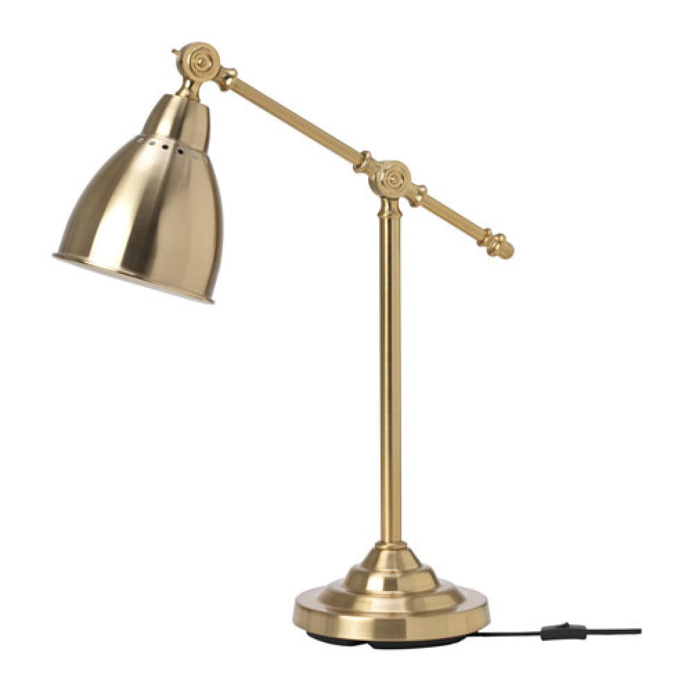 Лампа рабочая БАРОМЕТР желтая медь  фото 1