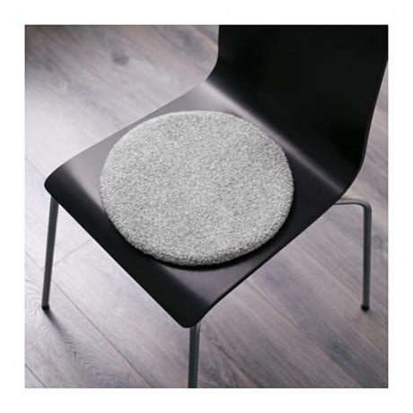 Подушка на стул БЕРТИЛЬ серый фото 4