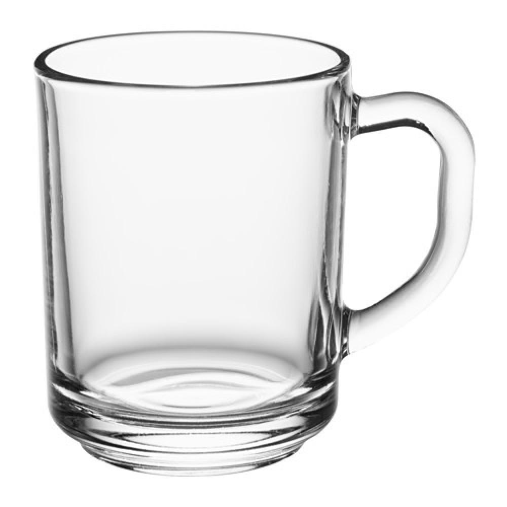Кружка БЕТИТАД закаленное стекло  фото 1