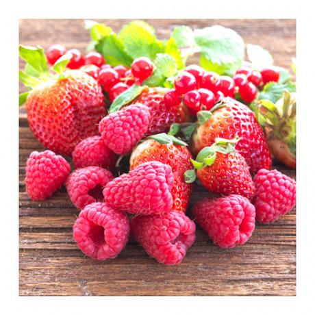 Цветочная отдушка ДОФТА ароматический, Красные садовые ягоды красный фото 4