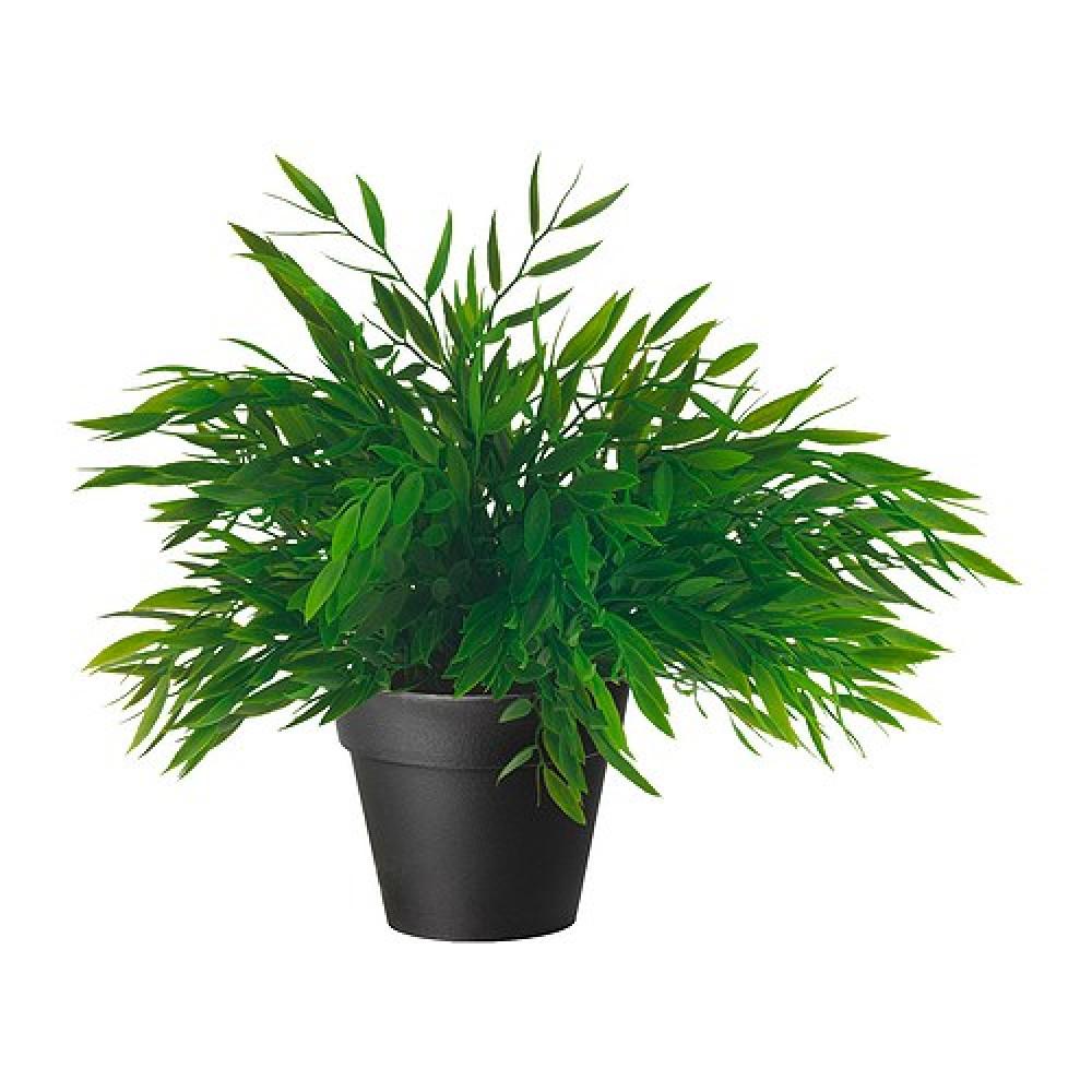 Искусственное растение в горшке ФЕЙКА Комнатный бамбук  фото 1