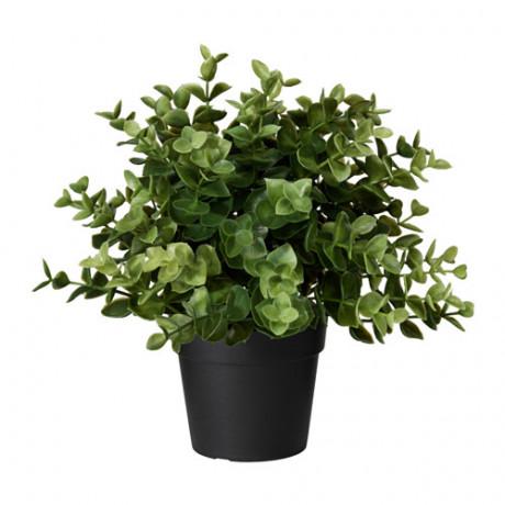 Искусственное растение в горшке ФЕЙКА душица фото 3