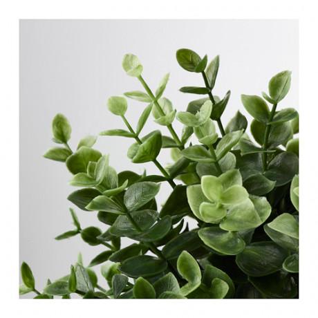 Искусственное растение в горшке ФЕЙКА душица фото 4