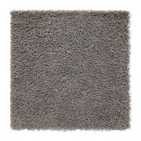 Ковер, длинный ворс ХАМПЭН серый фото 3